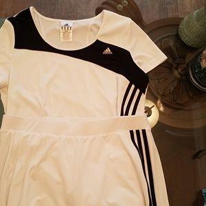 Tennis shirt and shorts